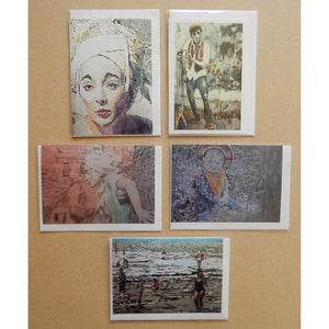 A Variety Pack of Busker Blank Art Cards by Stella Tooth