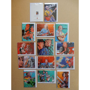 A Variety Pack of Blank Musician Art Cards by Stella Tooth
