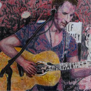 Chesney Hawkes at the Half Moon Putney by artist Stella Tooth Detail