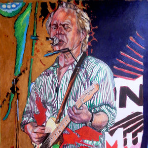 Chris Jagger at The Brentham Club by Stella Tooth Detail