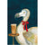 Dodo With A Pint by Helen Trevisiol Duff