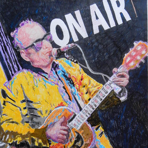 Elvis Costello by Stella Tooth Detail