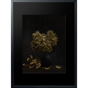 Dutch Masters 10 framed 60x80cm Hydranges leaves photograph by Michael Frank