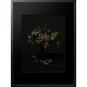 Dutch Masters 16 framed 60x80cm floral bouquet photograph by Michael Frank