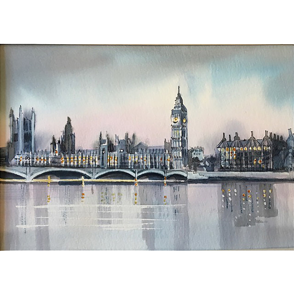 Houses of Parliament by Helen Trevisiol Duff
