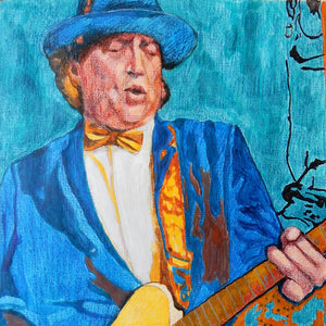 Joe Jammer at the Half Moon Putney by Stella Tooth Detail