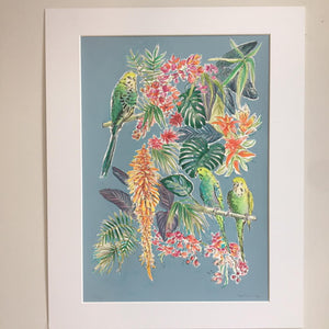 Jungle Floral by Helen Trevisiol Duff Full