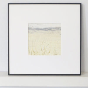 Landscape in Tallow by Sarah Knight Framed Black