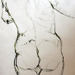 Life Drawing Ink by Stella Tooth Detail