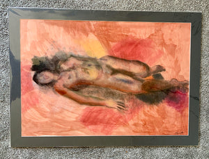 Life Drawing Mixed Media by Stella Tooth