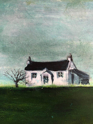 Little House by Sarita Keeler Detail