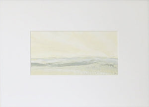 Landscape in Farrow's Cream by Sarah Knight Mount