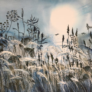 Moonlight by Helen Trevisiol Duff giclée print detail