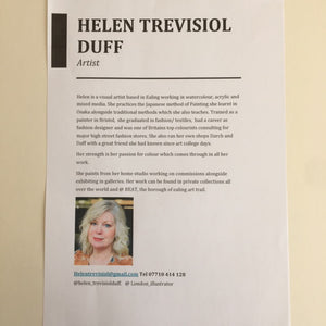 Obsessed with Tea by Helen Trevisiol Duff
