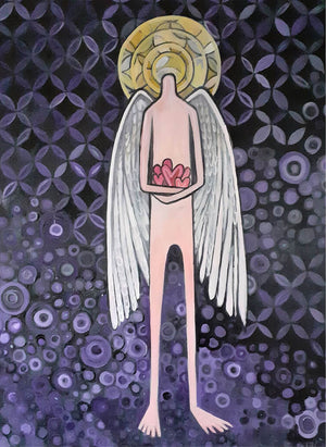 Angel by Wilf Frost Artist Oil on Canvas Preview