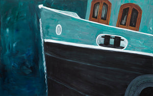 Kingston Boat by Sarita Keeler Acrylic Display