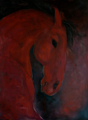 Red Horse by Sarita Keeler