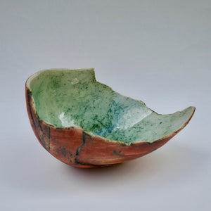 Red Shell by Ruty Benjamini Ceramic Artist Main