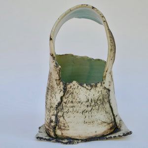 Small Basket Form by Ruty Benjamini Ceramic Artist Main