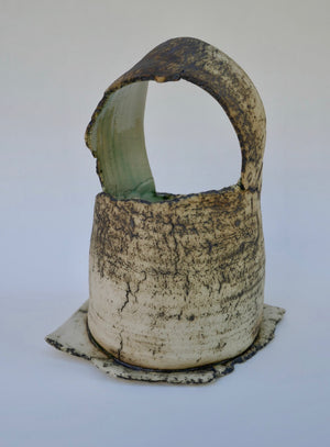Small Basket Form by Ruty Benjamini Ceramic Artist