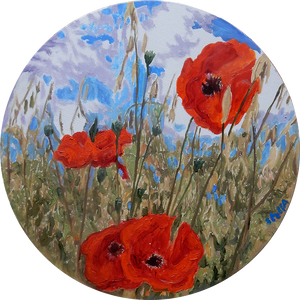 Poppies by Stella Tooth