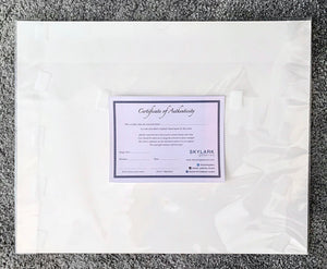 Stella Tooth Certificate of Authenticity