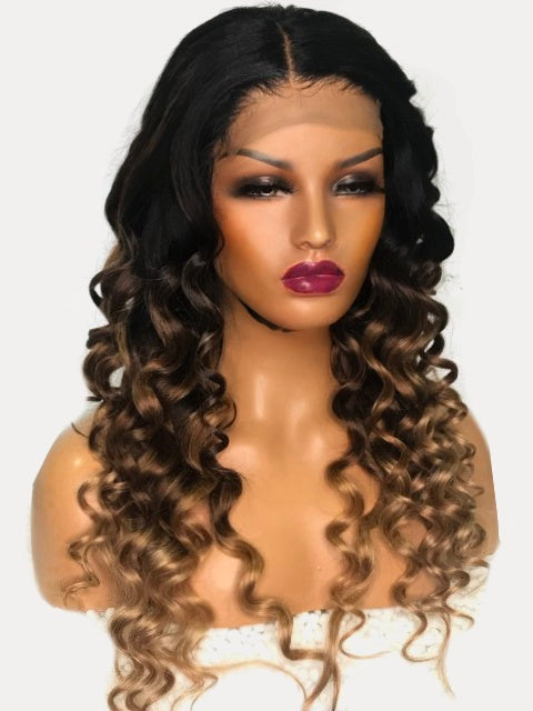 COLOURED LACE WIGS