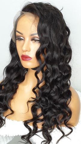 lace frontal bodywave wig uk