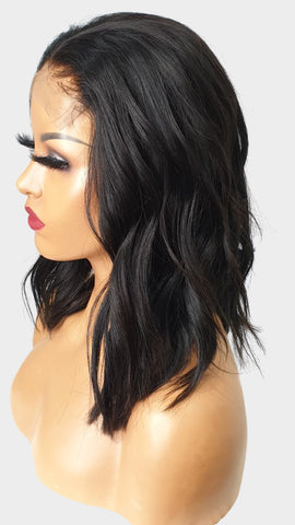 5by5 lace closure wig