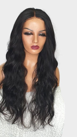 5 by 5 body wave lace closure london
