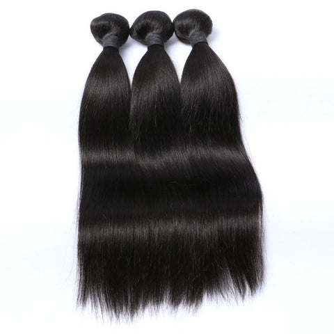 Premuim MONOGOLIA  straight  hair bundle UK
