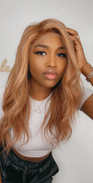 PREMUIM BLONDE  LACE FRONTAL WIG