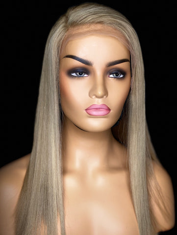 LACE WIG BLOND HUMAN HAIR