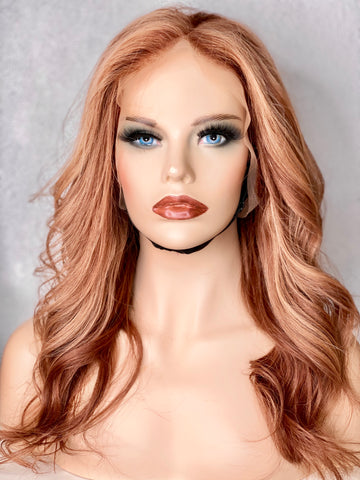 BLONDE LACE FRONT WIG UK