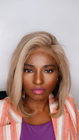 lace frontal blonde wig
