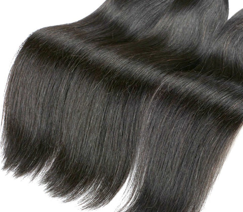 Premuim straight  burmese hair extensions