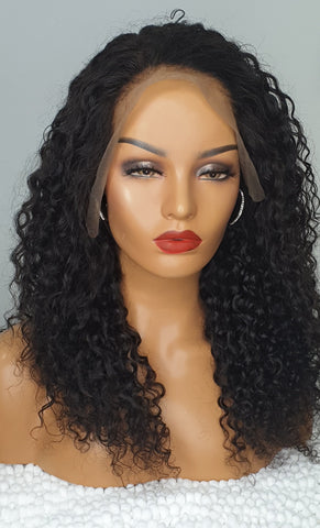 CURLY LACE FRONTAL WIG UK