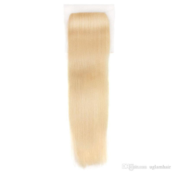 5 *5 lace closure 613 blond