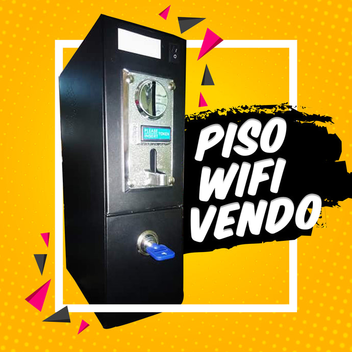 Pisowifi Vendo without Badge Led