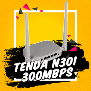 Tenda N301 300Mbps Easy Setup