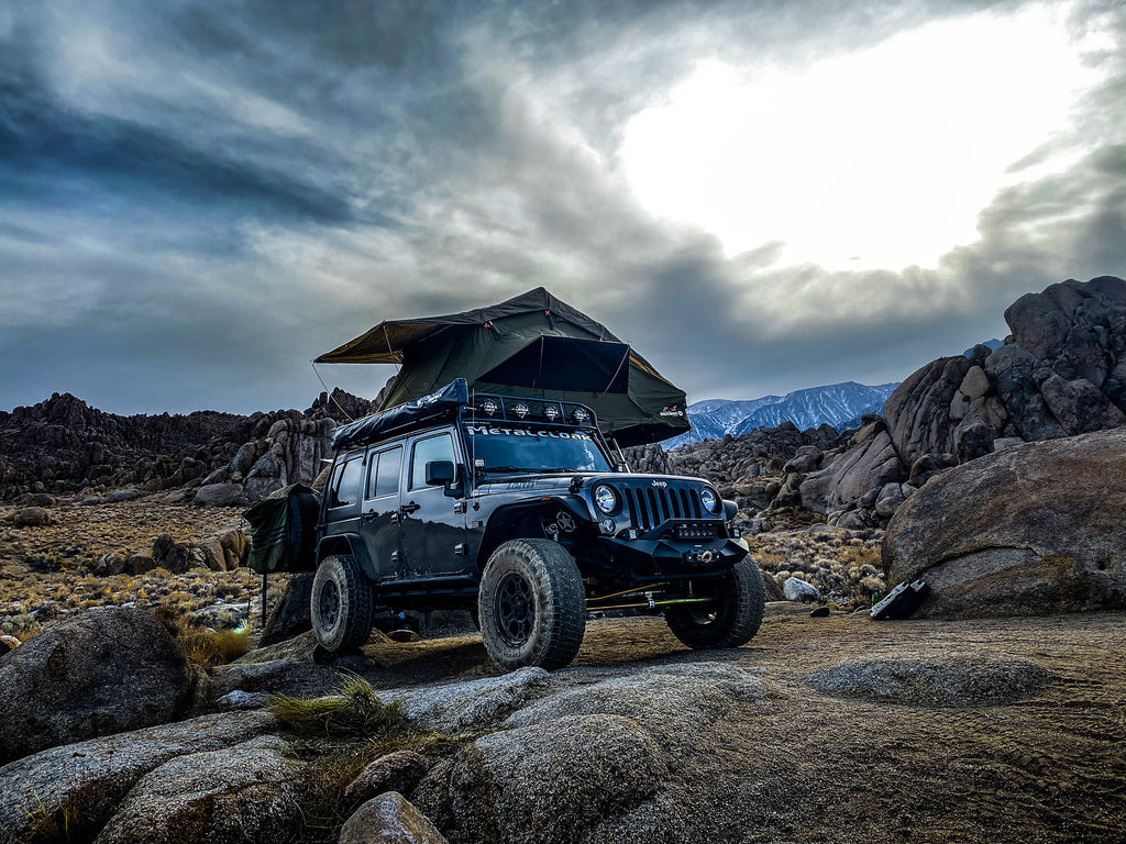 The Alabama Hills - Overlanding Christmas | King of the Hill