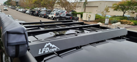 LFD 4Runner 5th Gen Steel Crossbar Bundle | LFD Off Road - San Diego Overland