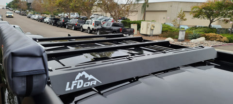 LFD 4Runner 5th Gen Ruggedized Crossbar - Steel | LFD OffRoad - San Diego Overland