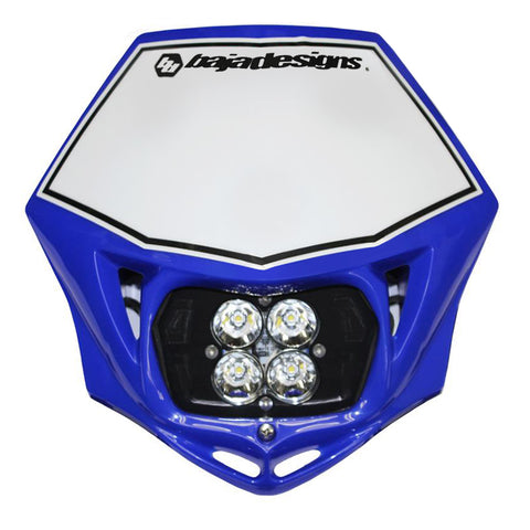 Motorcycle Race Light LED AC Blue Squadron Sport Baja Designs