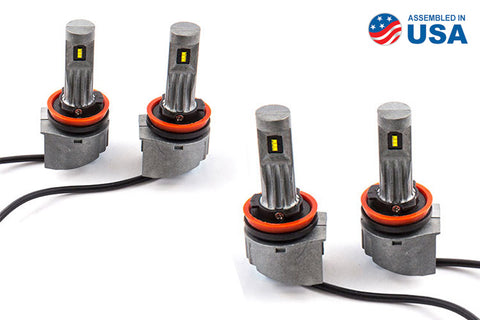 H11 SLF LED Yellow Set of 4 Diode Dynamics - San Diego Overland