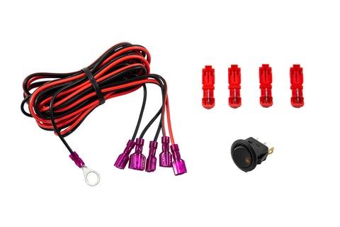 Add-on LED Switch Kit Amber Diode Dynamics