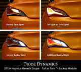 Hyundai Genesis Coupe Tail as Turn Kit w/ Backup Stage 2 Diode Dynamics - San Diego Overland
