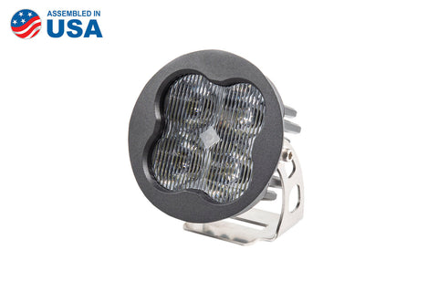 Worklight SS3 Sport White SAE Fog Round Single Diode Dynamics - San Diego Overland