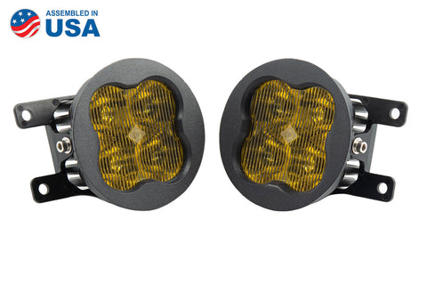 Worklight SS3 Sport Type A Kit Yellow SAE Fog Diode Dynamics