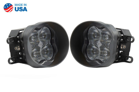 SS3 LED Fog Light Kit for 2014-2019 Toyota Tundra White SAE/DOT Fog Sport Diode Dynamics - San Diego Overland